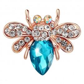 Just Apparel costume broach blue beetle